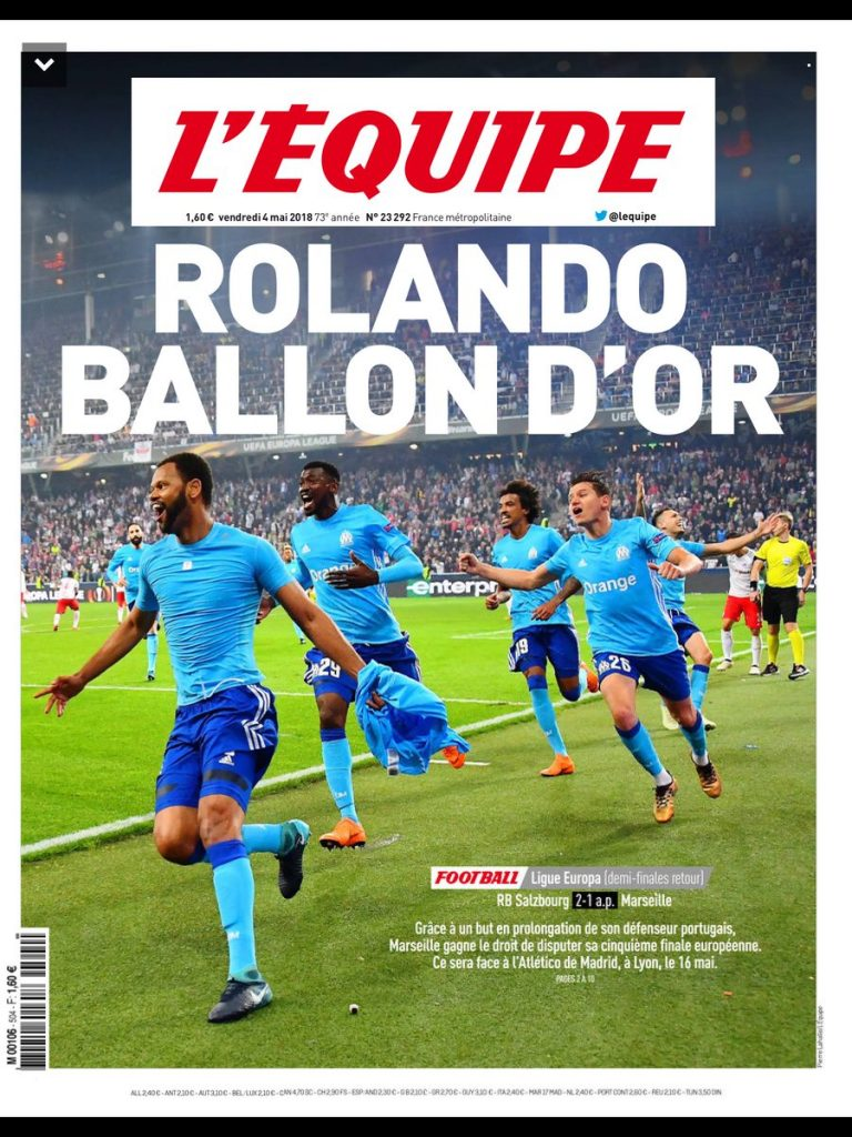 Rolando Ballon D'Or Heading 2018