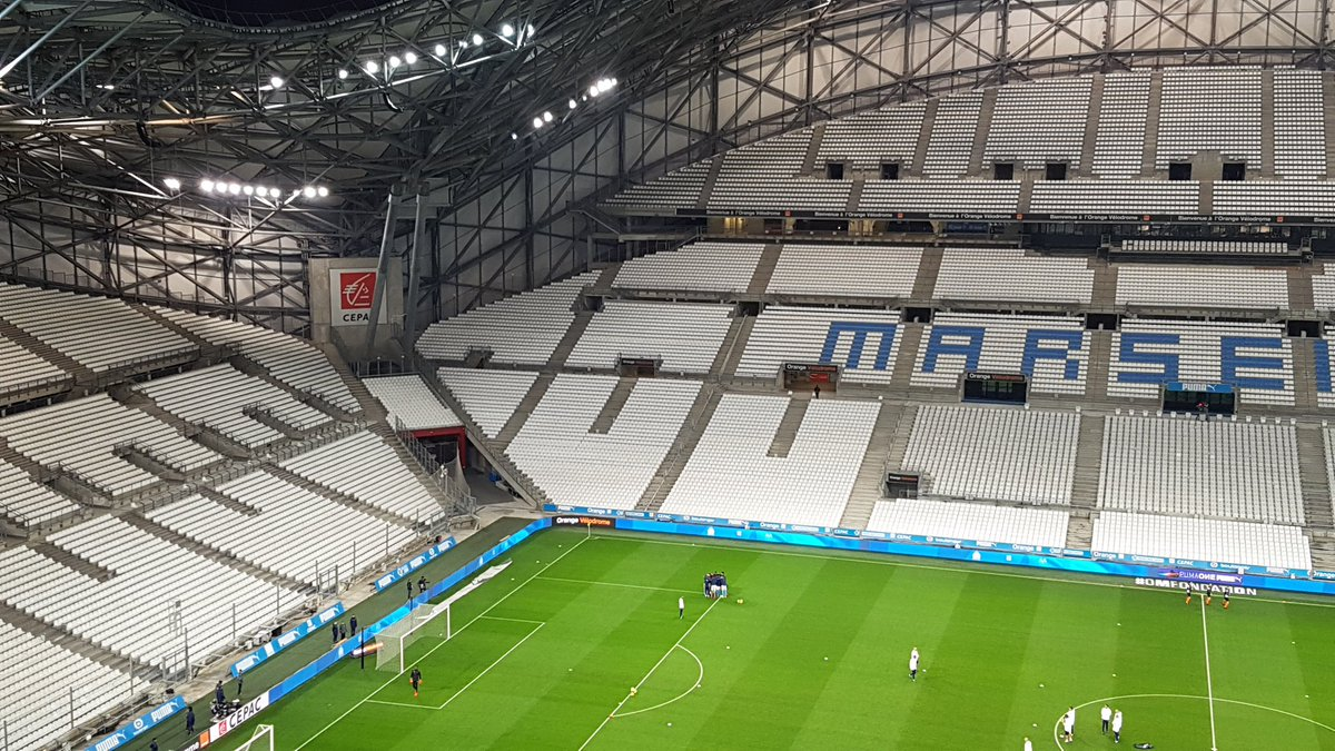 Empty Stadium Marseille