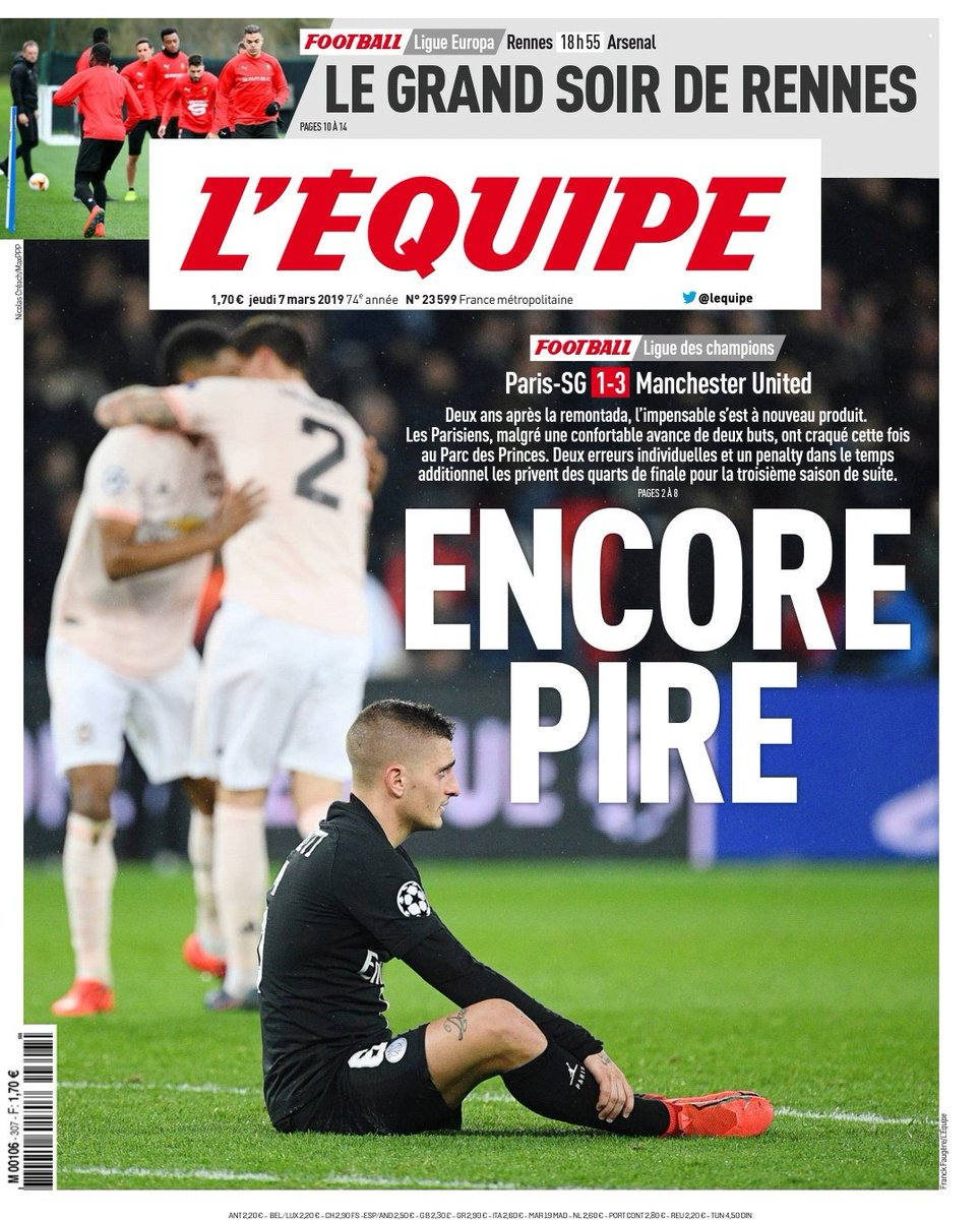 Headline Reaction to PSG United