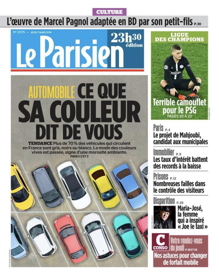 Le Parisien Headline