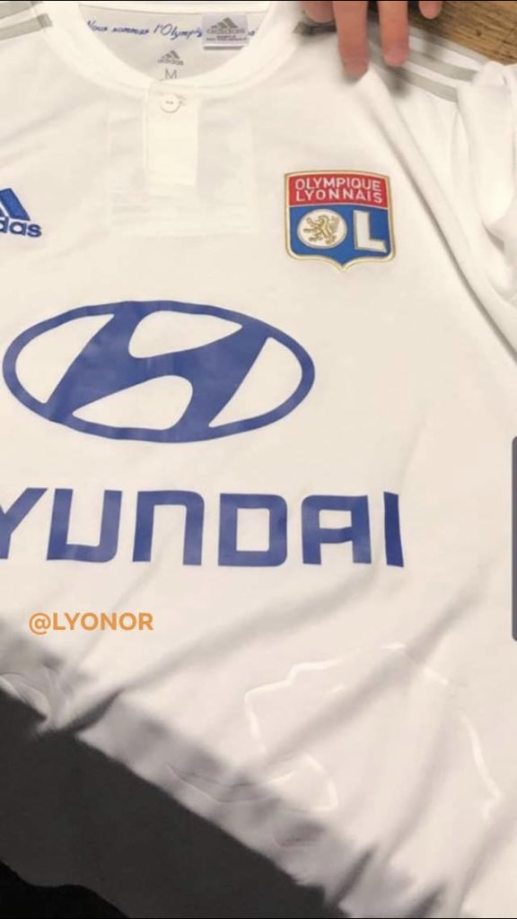 Leaked Lyon 2019-20 Kit