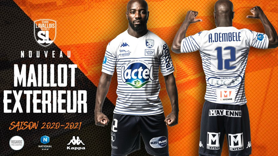 Stade Lavallois New Away Kit 2020-21