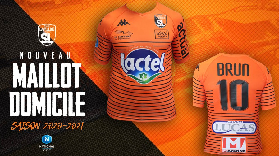 Stade Lavallois New Home Shirt 2020-21